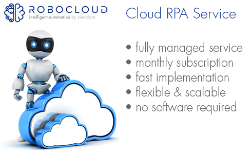 Cloud RPA Service from Robocloud