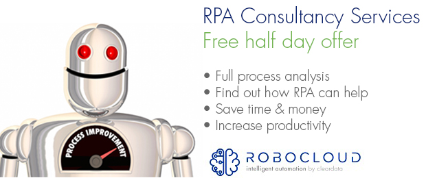 Robocloud Consultancy Services for RPA